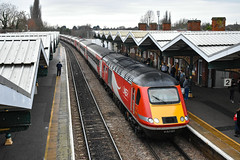43290 + 43296 - March - 06/01/19. (TRphotography04) Tags: london northeastern lner hst 43290 mtu fascination power 43296 pass march with 1e09 0930 edinburgh kings cross due engineering works taking place ecml between hitchin peterborough grand central hull trains services were diverted via ely cambridge