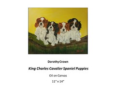 "King Charles Cavalier Spaniel Puppies • <a style=""font-size:0.8em;"" href=""https://www.flickr.com/photos/124378531@N04/32914646348/"" target=""_blank"">View on Flickr</a>"