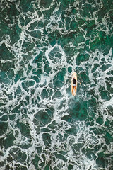 One More Wave (Corey Rothwell) Tags: wave waves ocean surf surfing surfer girl drone aerial
