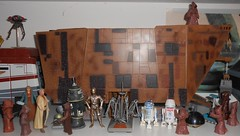 Hasbro & Disney - Droid Line Up (Darth Ray) Tags: hasbro disney starwars droidsforsale lineup star wars droids for sale line up sandcrawler jawas uncleowen auntberu uncle owen aunt beru