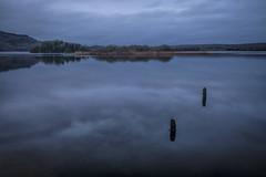 Winter evening, almost dark (irishman67) Tags: ireland wildatlanticway lake clare countyclare coclare corofin sunset lakeinchiquin moody midwinter reflection reflections