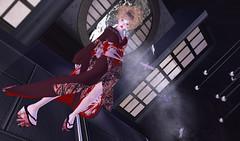 ebicha_kokorotayori (kyoka jun) Tags: new kimono ebicha kokorotayori japonica japonoca secondlife sl secondlifefashion 着物 こころたより 和もの市
