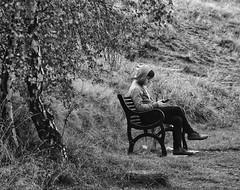The Smartphone Poet (heinrich_511) Tags: visit come allyouneed chair telephoto autumnal angel reisen reminiszenz derarmepoetvoncarlspitzweg gemälde nostalgia latesummer travel heinrichgaleriade panasoniclumixvario355614140mm panasonicdmcgm5 boy trees smartphone poet