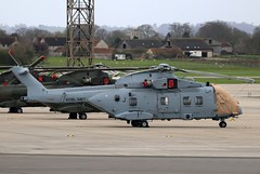 ZJ125 AgustaWestland Merlin HC.4, Royal Navy, RNAS Yeovilton, Ilchester, Somerset (Kev Slade Too) Tags: zj125 agustawestland merlin royalnavy egdy rnasyeovilton ilchester somerset 846nas
