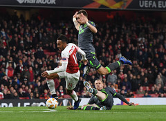 Arsenal v Sporting CP - UEFA Europa League - Group E (Stuart MacFarlane) Tags: uefachampionsleague sport soccer clubsoccer soccercompetition london england unitedkingdom gbr