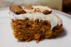 IMG_0070 (sally_byler) Tags: pumpkin heath bar sweet treat icing frosting fall autumn kitchen