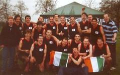 Dublin Demons third in British Cup 2000 (Australian Embassy Ireland) Tags: afl football aussie rules