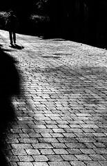 Sobre los adoquines... (Ricardo Pallejá) Tags: adoquines street calle falset blancoynegro bw blackandwhite contraste textura nikon