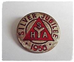 Scottish Youth Hostel Association Badge. (Paris-Roubaix) Tags: scottish youth hostel association syha enamel badges 1956