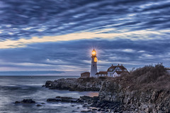Portland Head Lighthouse (andrewryder) Tags: lighthouse portland fortwilliams fortwilliamspark maine me 207 new england newengland ocean cloud sky clouds coast coastal landscape landscapes