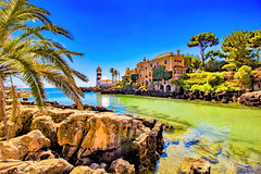 Coastal Town (mikederrico69) Tags: history historic village sky skyline beach nature green blue seascape sea seaside sand rocks summer river water portugal cascais town coastal coastline trees tree old medieval fort plants palace oceanscape building marina west
