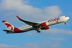 C-GHLV (Air Canada - rouge) (Steelhead 2010) Tags: aircanada rouge boeing b767 b767300er yyz creg cghlv