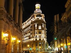 Banco de Valencia (madbesl) Tags: valencia spanien spain europa euope nacht night architecture architektur altstadt oldtown olympus omd em10 m10 omdem10 lumix20mmf17 espana town