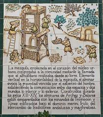 mural de azulejos en Archez (Stil Licht) Tags: archez axarquia espagna sierraalmijara sierratejeda spain spanje azulejos muraldeazulejos tegeltableau tiletableau