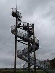 klimtoren langs de N302 bij Aviodrome Lelystad Airport (willemalink) Tags: klimtoren langs de n302 bij aviodrome lelystad airport