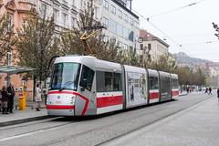 BRN_1930_201811 (Tram Photos) Tags: skoda škoda 13t brno brünn strasenbahn tram tramway tramvaj tramwaj mhd šalina dopravnípodnikměstabrna dpmb