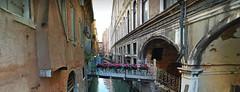 7 (ERREGI 1958) Tags: canale veneto venezia italia italy venice acqua water edificio edifici portico