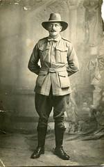 Australian soldier - WW1 (Aussie~mobs) Tags: australia soldier ww1 uniform portrait army military unknown