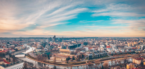 Vilnius panorama   Aerial