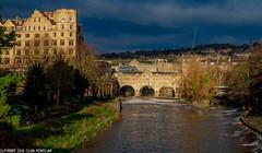 DSC_2845:Pulteney Bridge, Bath, UK (Colin McIntosh) Tags: bath georgianarchitecture uk nikond610 nikon d610 55mm f12 sc manual focus