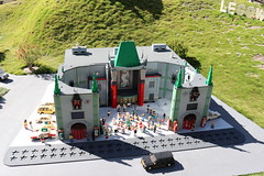 """Lego Hollywood area of Miniland • <a style=""""font-size:0.8em;"""" href=""""http://www.flickr.com/photos/28558260@N04/45391608655/"""" target=""""_blank"""">View on Flickr</a>"""