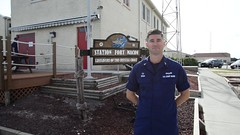 Station Fort Macon recovers from Hurricane Florence (Coast Guard News) Tags: uscg coastguard bmcs carterseigh seniorchief pettyofficer station fortmacon sign moreheadcity northcarolina unitedstates us hurricaneflorence 47 mlb stationfortmacon