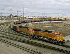 Alliance NE Monday September 29th 2003 1445 MDT (Hoopy2342) Tags: train rail railroad railway alliance nebraska neb bnsf burlingtonnorthernsantafe