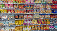 Chips - BLT Supermarket - Hangzhou (BlueVoter - thanks for 2.8M views) Tags: hangzhou grocery supermarket market marche markt chips