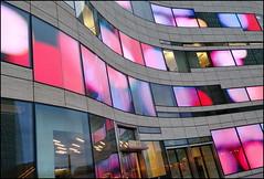 Color play (Logris) Tags: libeskind colors farben bunt farbig colorful architektur düsseldorf dus dusseldorf fenster windows window architecture
