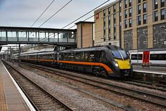 180105 - Cambridge - 06/01/19. (TRphotography04) Tags: grand central 180105 passes through cambridge working 1d93 1440 london kings cross bradford interchange