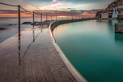 Bronte Sunrise (darrinwalden Photography) Tags: bronte aqua water pool sydney australia rocks sunrise soft