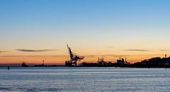IMG_3345 (S. Josuason) Tags: göteborg hisingen sunset harbour