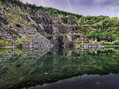 Ballachulish Slate Quarry (drjbscott) Tags: scotland unitedkingdom gb ballachulish glencoe lochaber reflection iphone