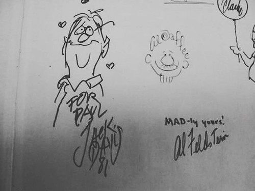 Jack Davis, Al Jaffee, Al Feldstein Paul H. Elliott-Smith's Copy of A Golden Trashery of MAD buff.ly/2J0RflB #MAD #AlJaffee #AlFeldstein #JackDavis