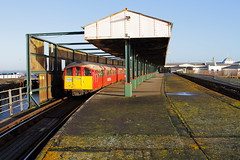 Isle of Wight UK  |  2018 (keithwilde152) Tags: br class483 island line ryde pier head isle wight uk 2018 station buildings architecture platforms tracks passenger train outdoor autumn sun