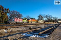 Northbound KCS Manifest Train Grandview, MO (Mo-Pump) Tags: train railroad railfan railroader railway railroading railroads locomotive