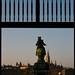 Wien, Blick von Neuer Burg zum Rathaus