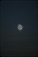 Onderdendam (Schnarp) Tags: onderdendam nacht night sky space ruimte hemellichaam hdr henrirengers edited bewerkt nederland netherlands holland niederlande paysbas europa europe pentaxk10d maan moon mond lune