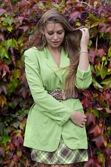Autumn (piotr_szymanek) Tags: kornelia korneliaw woman young skinny portrait outdoor face longhair jacket mini skirt hand goldenhour leaves autumn 1k 20f 50f 5k 10k 100f 20k 30k 40k