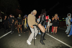 029 (morgan@morgangenser.com) Tags: westhollywood halloween 2018 weho carnival costumes crazy funny bizarre sexy naked lingerie donaldtrump stormydaniels photobymorgangenser scarytights exposing flashing photographers colorful lgbt dressingup dessingdown