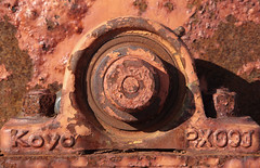 Koyo PX09J (peterkelly) Tags: digital canon 6d northamerica canada newfoundlandlabrador dildo harbour harbor bold metal rusty rusted rust chipped paint chips