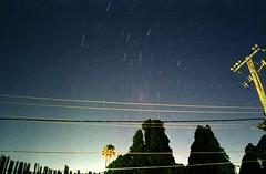 Under the Milky Way (AnalogSpecial) Tags: contaxg1 kodakproimage100 longexposure astrofilmphotography startrails brisbane australia 35mm analogue analog filmphotography filmcommunity contax 28mmcarlzeissbiogonf28 nightsky stars