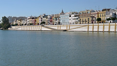 Guadalquivir River/Triana, Seville, Spain (geoff-inOz) Tags: guadalquivir river triana seville spain heritage buildings historic architecture andalusia