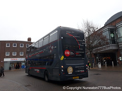 YX15OYE 6710 (Joanne) National Express Platinum in Solihull (Nuneaton777 Bus Photos) Tags: national express platinum west midlands adl enviro 400mmc yx15oye 6710 joanne solihull