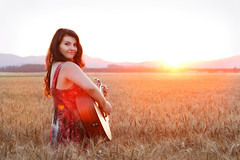 Jasmin - CD Artwork Series (Rob Harris Photography) Tags: artistic attractive artist musician performance performer guitarist singer songwriter beautiful beauty creative contrast colour curves curvy country dramatic female fashion feminine girl gorgeous woman portrait guitar instrument sunny sunset goldenlight goldenhour rustic rural