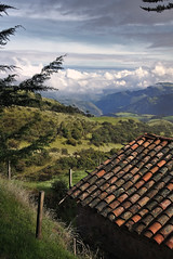 Roof (Elkin Vallejo) Tags: clouds cloud landscape roof countryside valley canyon nariño colombia nubes nube paisaje techo valle cañón