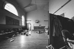 only.this.I.want (jonathancastellino) Tags: toronto church gym gymnasium divider window court basketball leica m line lines