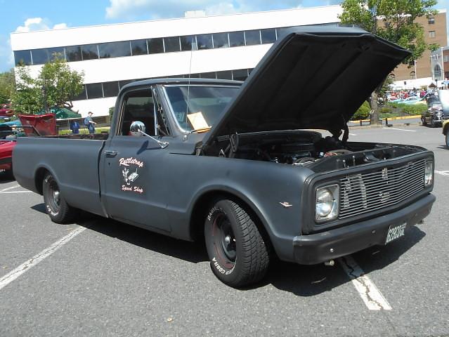 1969 chevy c10 custom deluxe