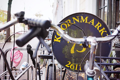 """""""Koornmarkt 73A"""" (Eric Flexyourhead) Tags: koornmarkt delft zuidholland southholland netherlands holland nederland bike bicycle parking bikerack old weathered worn shallowdepthoffield sonyalphaa7 zeisssonnartfe35mmf28za zeiss 35mmf28"""