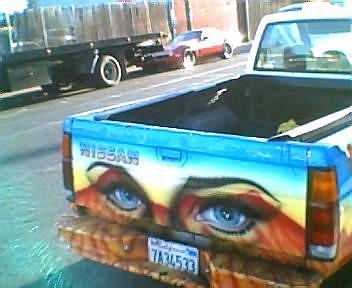 Toy digital silliness - eye truck